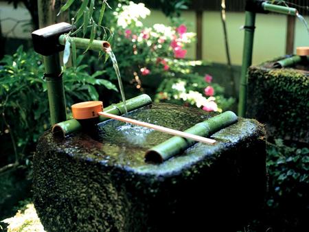 沉淀的京都到处充满禅意