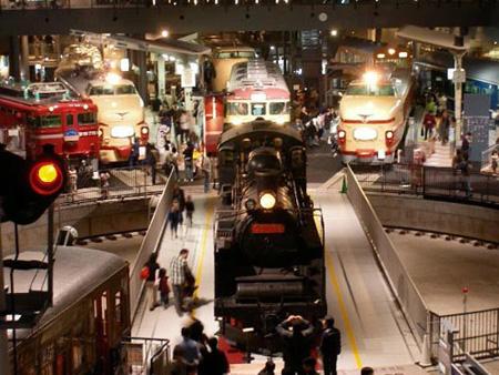 造访琦玉市大宫铁道博物馆