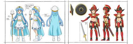 前往异世界冒险!OVA《侵略!乌贼娘》设定画公开