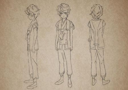 贵志佑介《自新世界》动画版人设线稿图公开