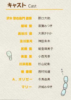 7月新番《萌菌物语Returns》CAST公开 泽城美雪加盟