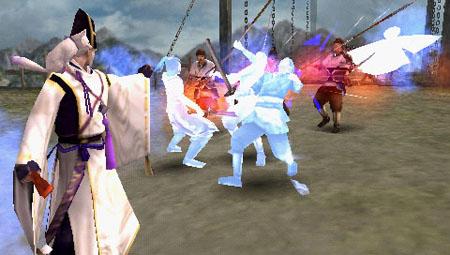 PSP《大蛇无双2特别版》新角色安倍晴明最新画面公开