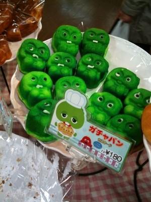 日本面包店里的奇异风景!