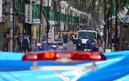 自杀未果为获死刑刺杀2人 大阪36岁男性被捕