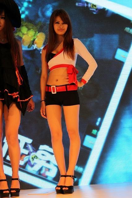 上海China Joy 2012游戏展美女如云引日媒关注