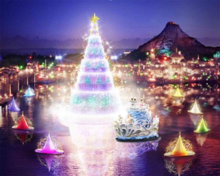 东京迪士尼推出圣诞月特别活动-日本旅游_日本よナナハ.攻略图片