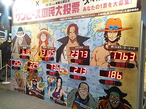 日本国民美女日向_《海贼王》国民大投票in涩谷街头 谁是你心中第一船长 - 日本通