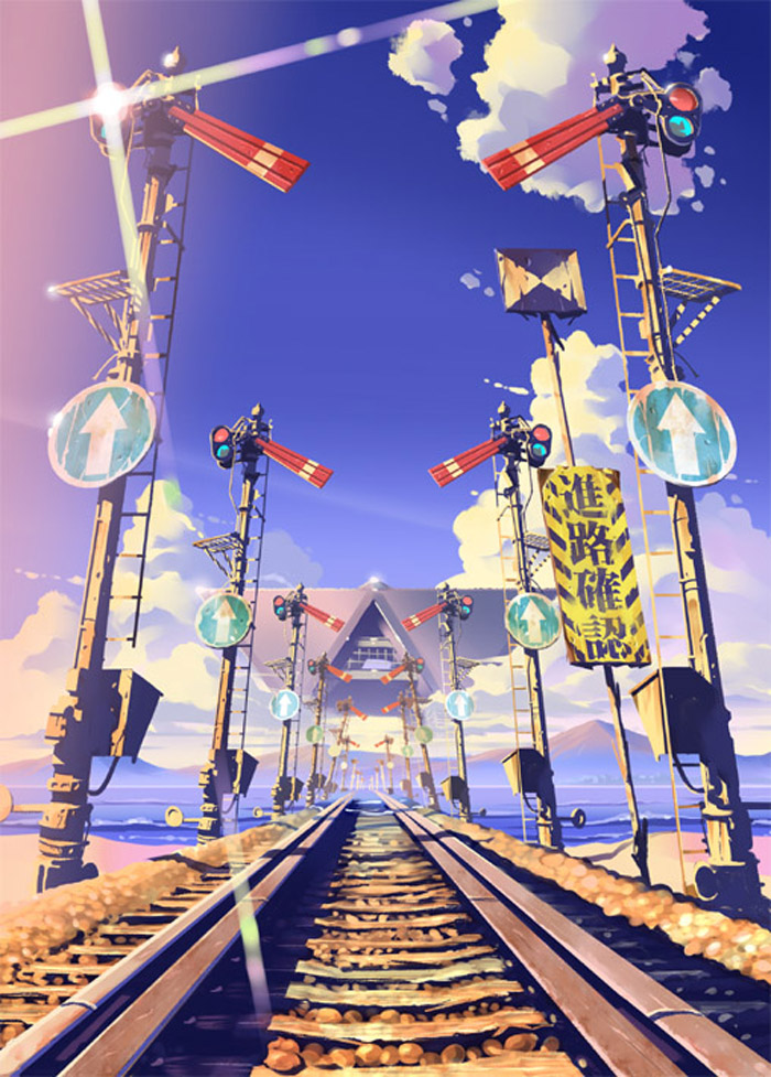 Vania600铁路电车少女美图赏 日本动漫