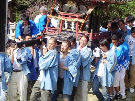 伊太祁曾神社秋祭