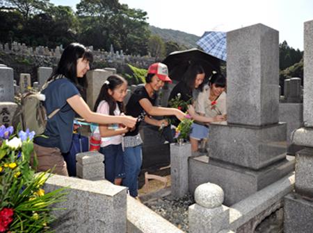 京都大谷本庙盂兰盆节期间将迎15万扫墓者