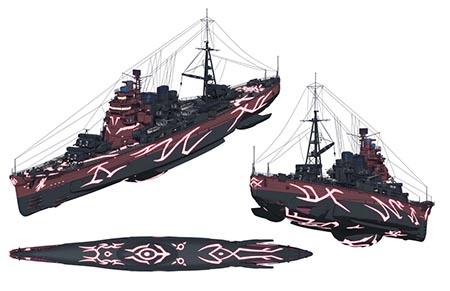 海洋战舰动画 苍蓝钢铁战舰 十月起航