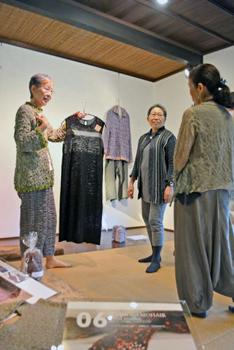 著名手织物艺术家鳥居作品展开展