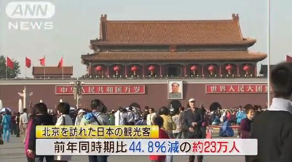 访华外国游客人数锐减 受大气污染等因素所致