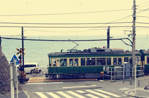 爱浪漫——最美电车江之电