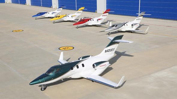 本田小型商务飞机hondajet将于明年出货