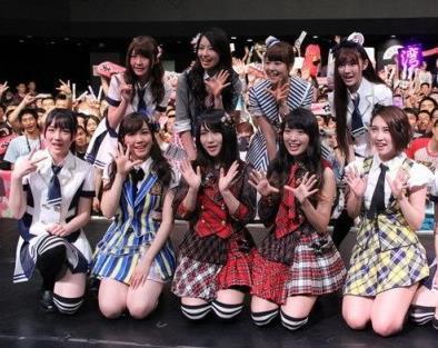 AKB48和姐妹组合上海举办粉丝握手会
