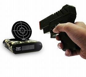 日本Unitcom推出为懒人准备的打靶闹钟