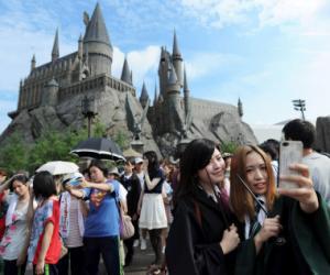日本环球影城8月访客数创历史新高