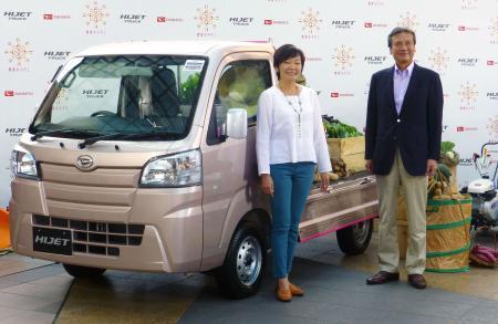 大发推出从农女性适用的改良版微型货车