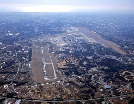 日本成田机场地图