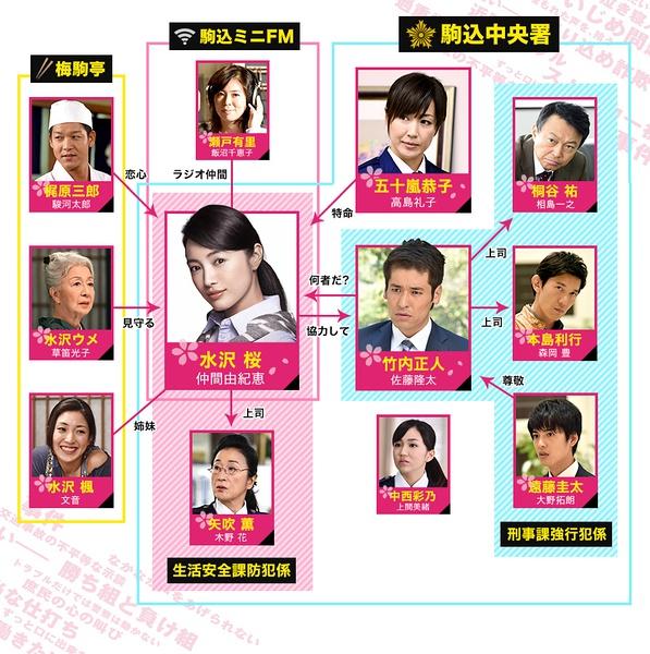 仲间由纪惠《SAKURA》开播 首集收视9.9%
