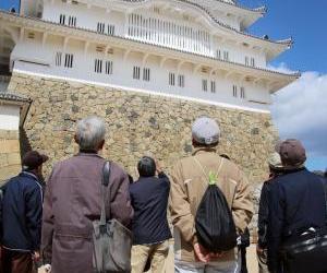 姫路城向维修费用捐赠者提前开放大天守