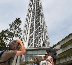 东京晴空塔举行开业3周年纪念活动