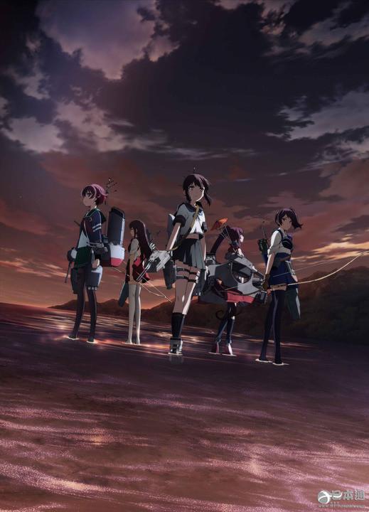 日本动画《舰队collection》剧场版新宣传图公开 确定11月26日上映