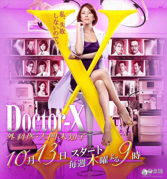 米倉涼子Doctor-X 西田敏行岸部一德內田有紀