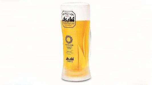 """日本朝日啤酒原创新品""""东京奥运会创意啤酒杯""""火爆上市"""