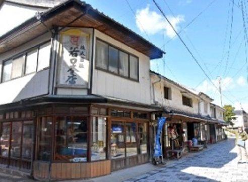 日本佐贺县古色古香的呼子街道