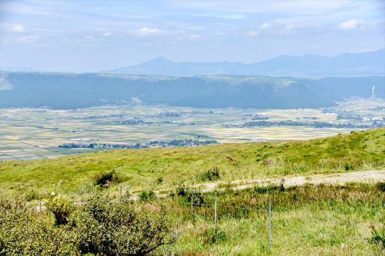 阿苏山火山