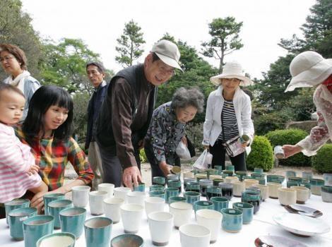 上野烧,春天的陶器节