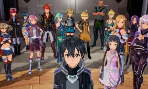 Switch版《刀剑神域》RPG游戏将于8月8日正式发售