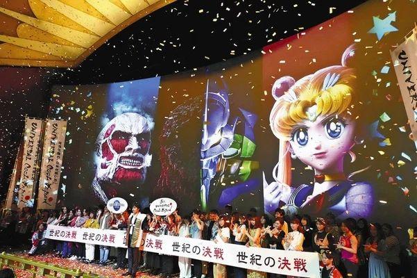大阪USJ环球影城开展夏季活动,人气动漫作品原版影像上映