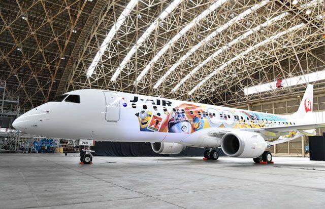 日本航空小黄人飞机再起航