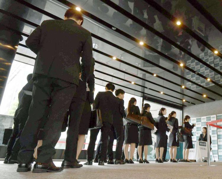 日本大型企业招聘面试正式启动