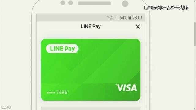 LINE和VISA合作,推进全球VISA加盟店的LINE移动支付