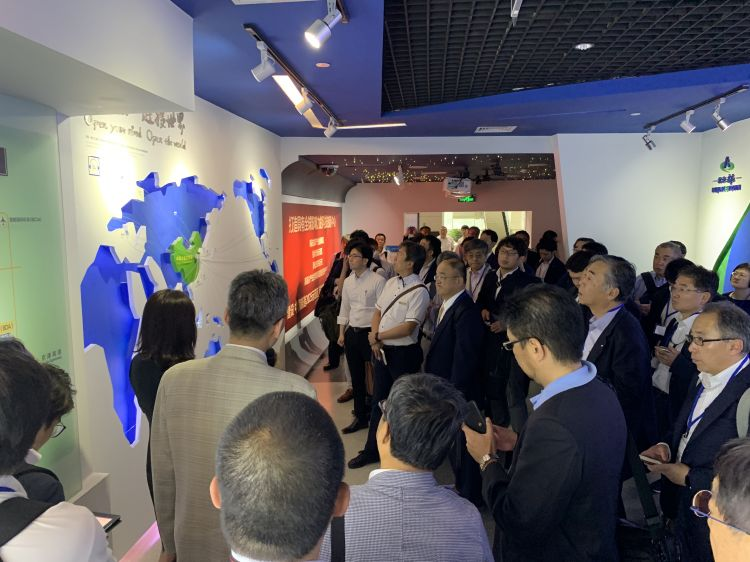 日中经济协会交流团抵达北京开启北京行