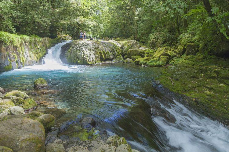 九州游记:菊池溪谷漫步