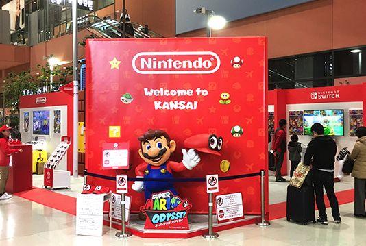 """任天堂将在成田机场开设游戏体验中心""""Nintendo Check In"""""""