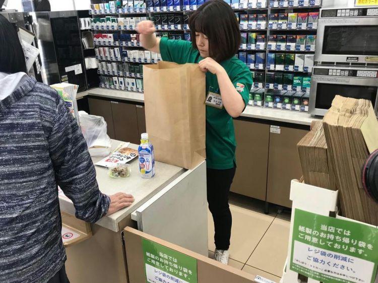 ministop等日本便利商巨头进一步推进塑料袋收费