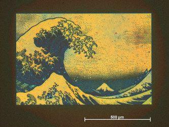 日本京都大学研发出高清无墨全色打印技术