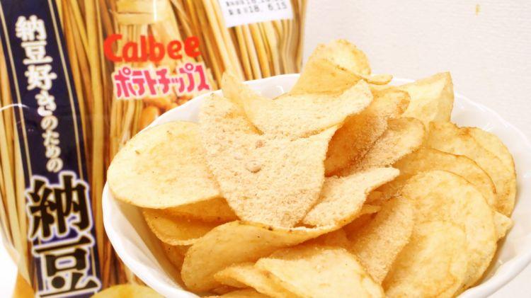 Calbee纳豆味薯片返场 仅限日本罗森便利店