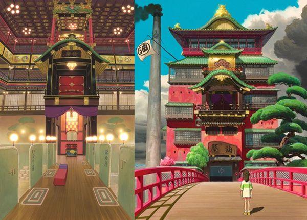 《千与千寻》热映 这几个经典场景在日本都有原型