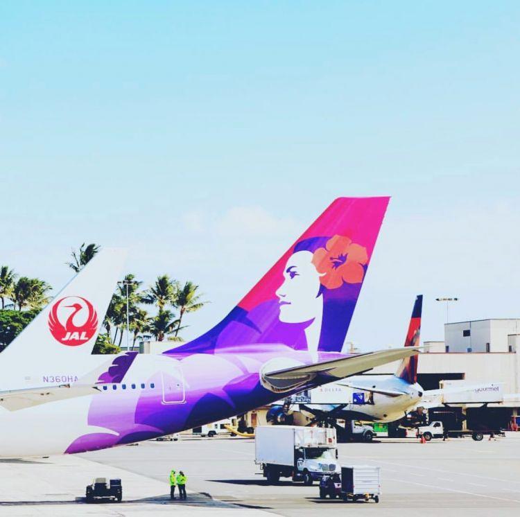 夏威夷航空往返日本福冈航班,实现每周四次飞行