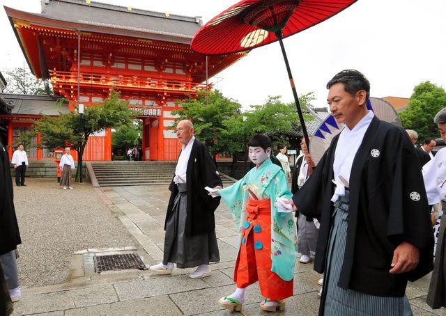 为期一个月的京都祇园祭盛大开幕