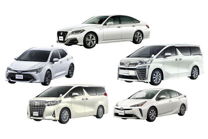 丰田在日本全国开展定额租车服务