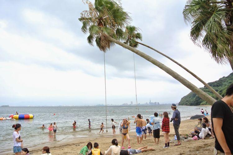 福冈县夏日必去5大海水浴场