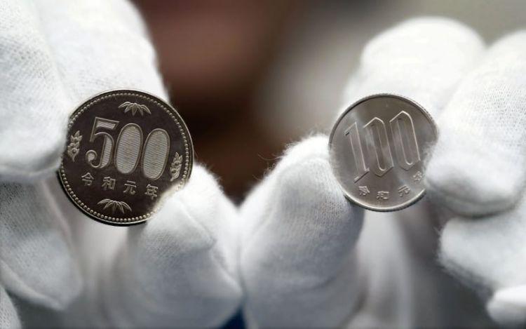 """日本大阪举行首造式 开始制造印有""""令和元年""""的硬币"""